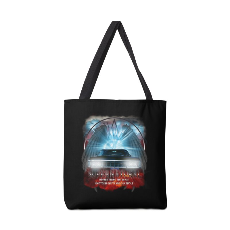 Supernatural Driver picks the music shotgun shuts his cakehole Darkness 2 Accessories Bag by ratherkool's Artist Shop
