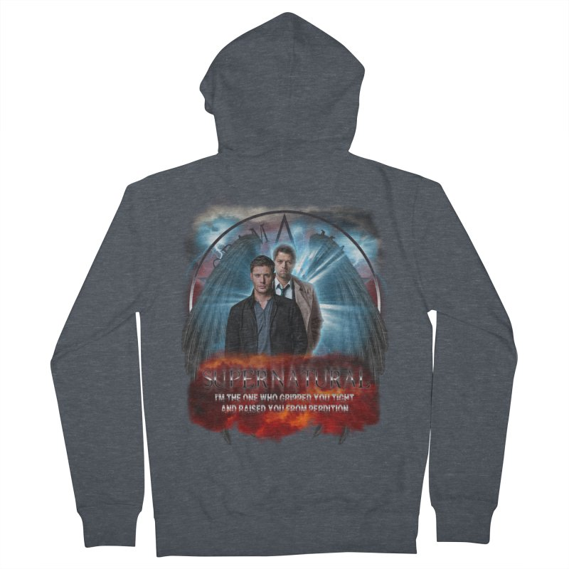 Supernatural I'm the one who gripped you tight and raised you from Perdition 2 Women's Zip-Up Hoody by ratherkool's Artist Shop