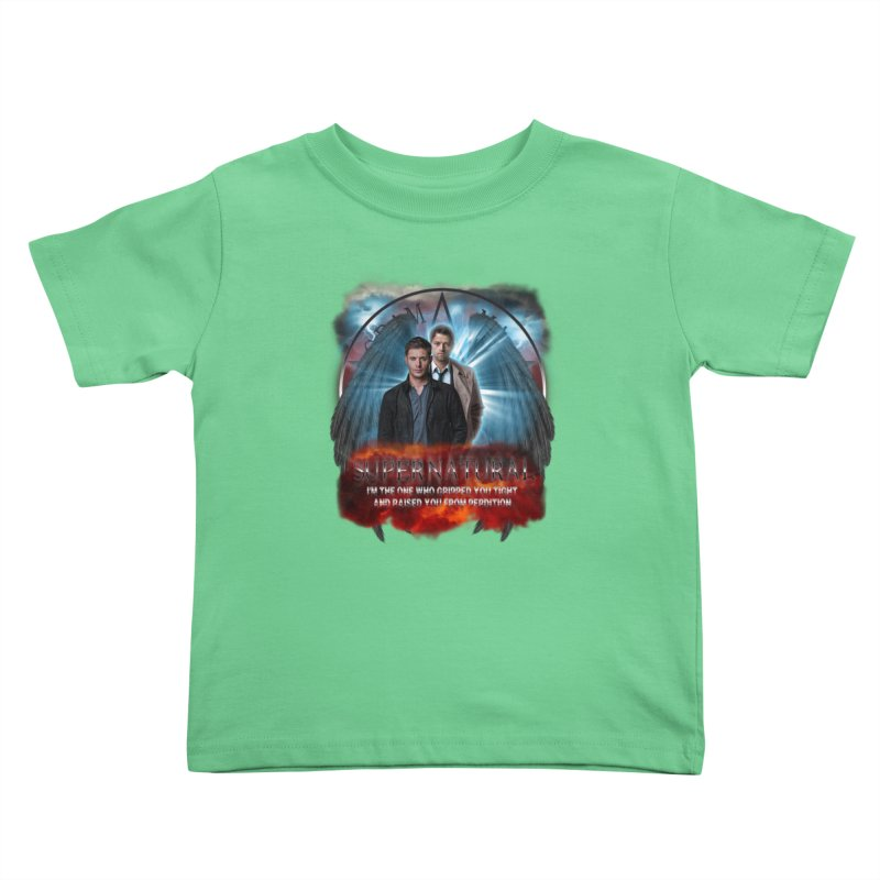 Supernatural I'm the one who gripped you tight and raised you from Perdition 2 Kids Toddler T-Shirt by ratherkool's Artist Shop