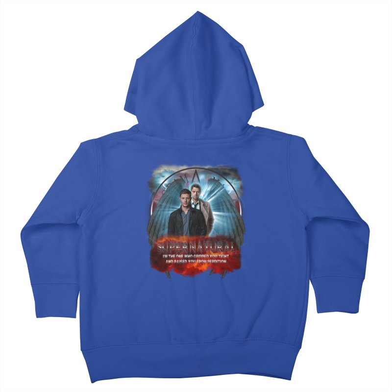 Supernatural I'm the one who gripped you tight and raised you from Perdition 2 Kids Toddler Zip-Up Hoody by ratherkool's Artist Shop