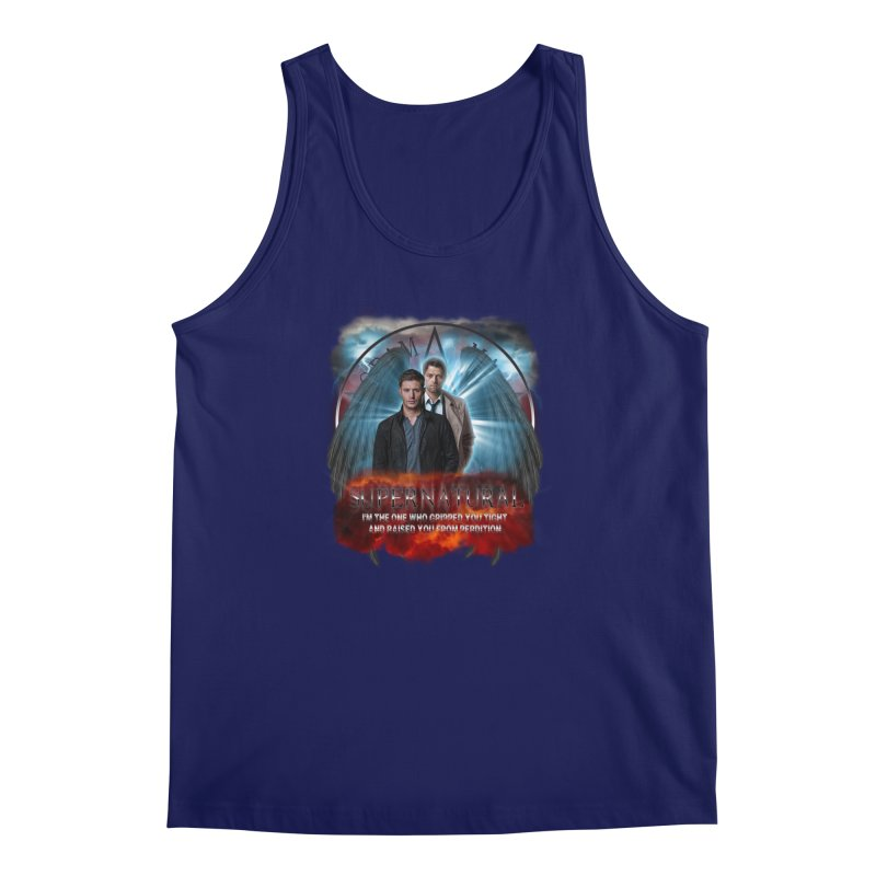 Supernatural I'm the one who gripped you tight and raised you from Perdition 2 Men's Tank by ratherkool's Artist Shop