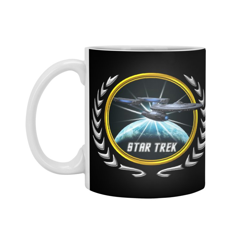 Star trek Federation of Planets Enterprise Refit 2 Accessories Mug by ratherkool's Artist Shop