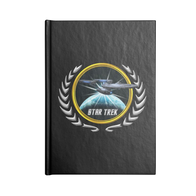 Star trek Federation of Planets Enterprise Refit 2 Accessories Notebook by ratherkool's Artist Shop