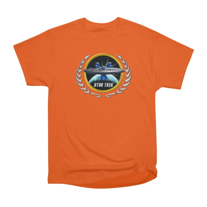 Star trek Federation of Planets Enterprise JJA3 Women's Classic Unisex T-Shirt by ratherkool's Artist Shop
