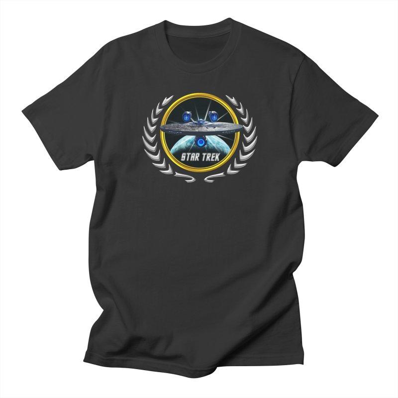 Star trek Federation of Planets Enterprise JJA3 Men's T-Shirt by ratherkool's Artist Shop