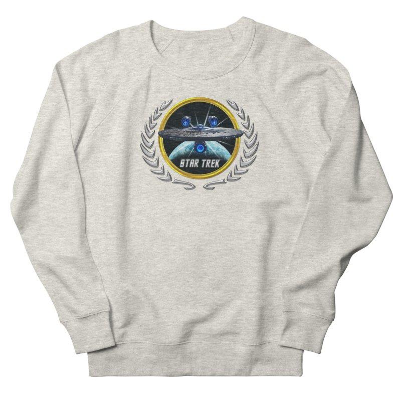 Star trek Federation of Planets Enterprise JJA3 Men's Sweatshirt by ratherkool's Artist Shop