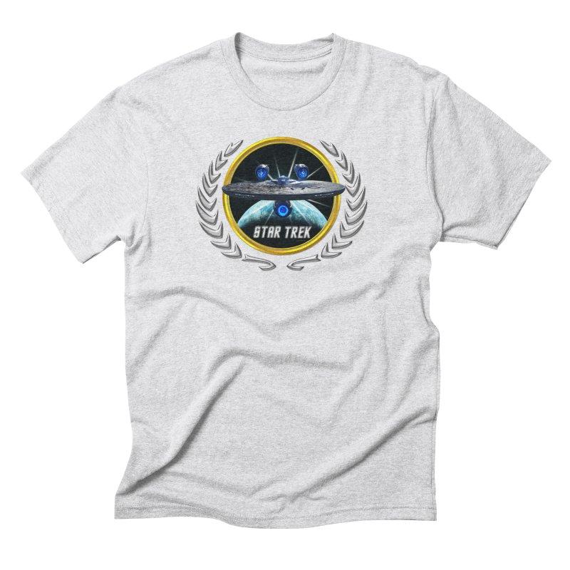 Star trek Federation of Planets Enterprise JJA3 Men's Triblend T-Shirt by ratherkool's Artist Shop