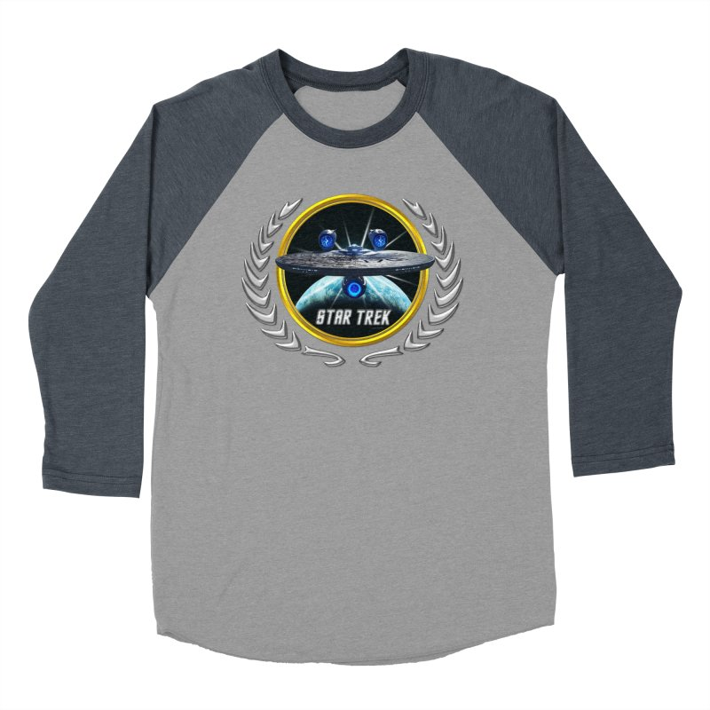 Star trek Federation of Planets Enterprise JJA3 Women's Baseball Triblend T-Shirt by ratherkool's Artist Shop