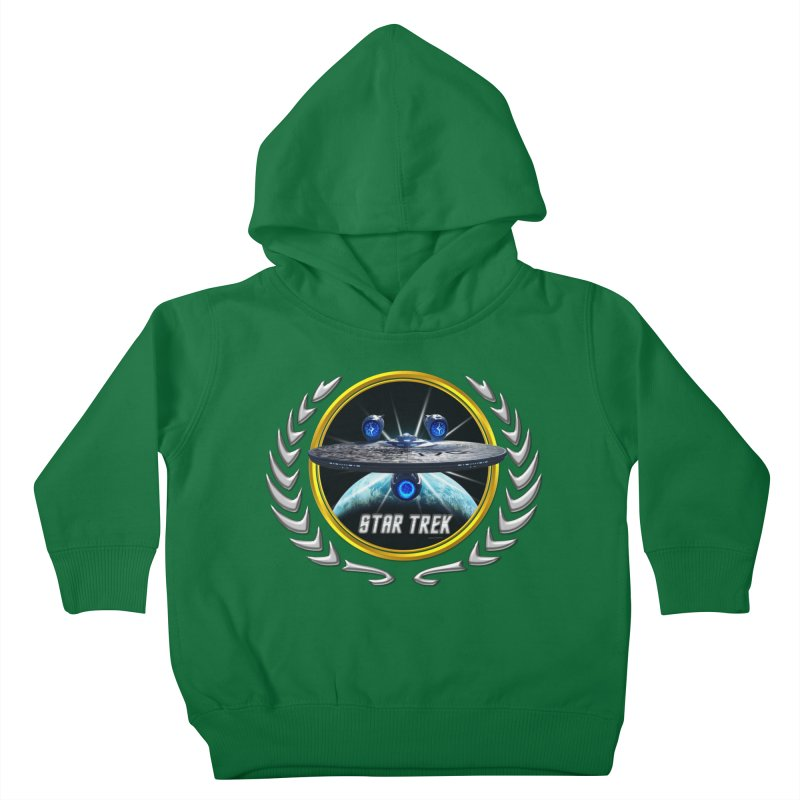 Star trek Federation of Planets Enterprise JJA3 Kids Toddler Pullover Hoody by ratherkool's Artist Shop