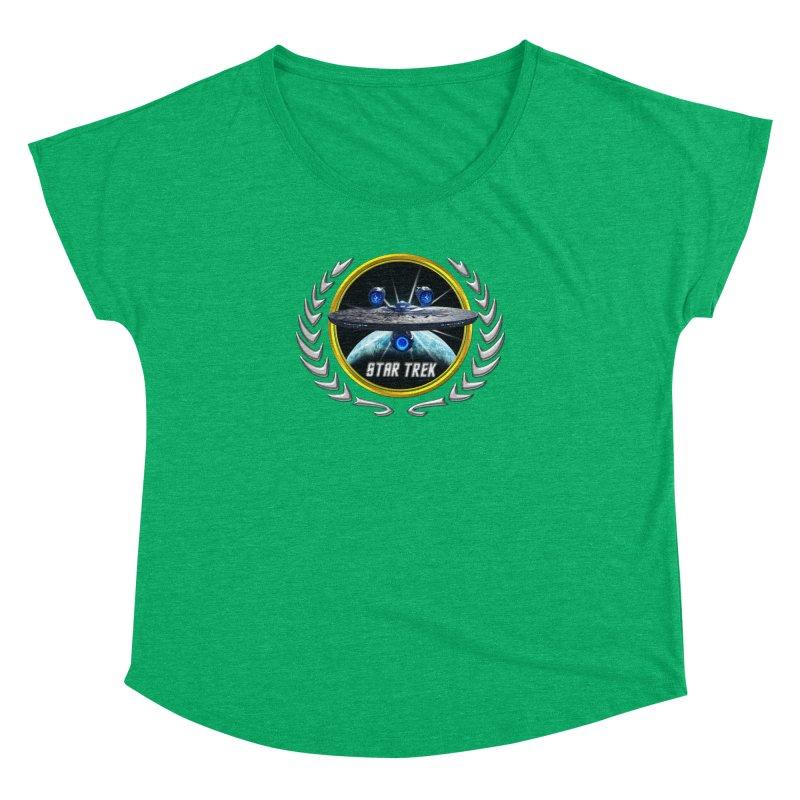 Star trek Federation of Planets Enterprise JJA3 Women's Dolman by ratherkool's Artist Shop