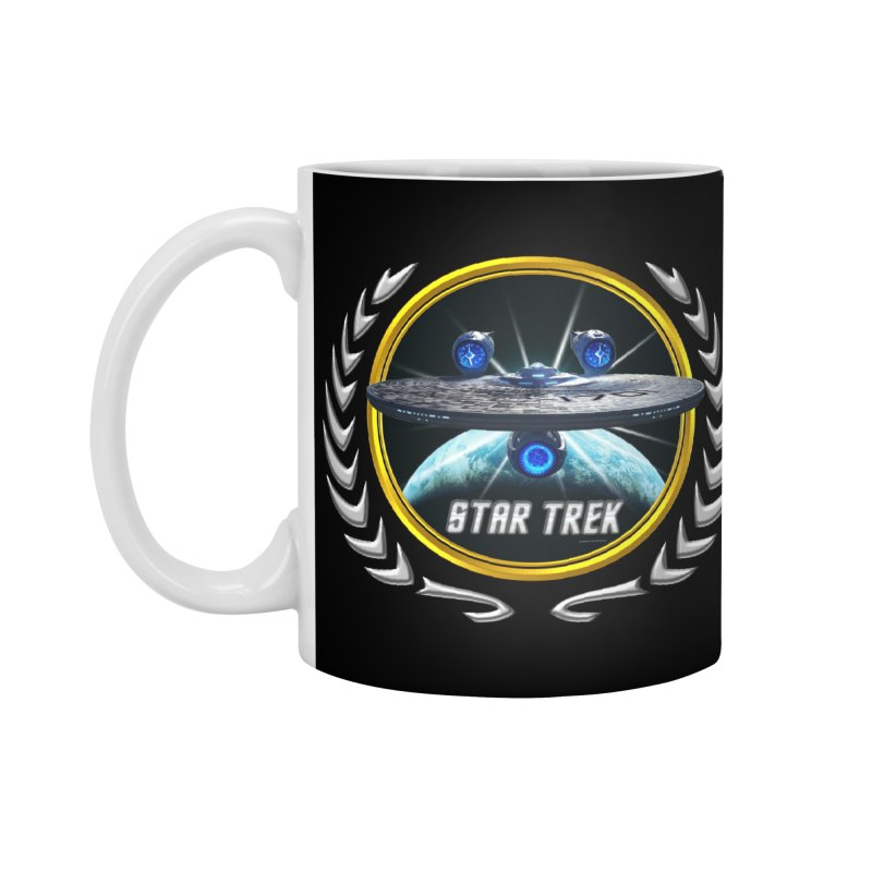 Star trek Federation of Planets Enterprise JJA3 Accessories Mug by ratherkool's Artist Shop