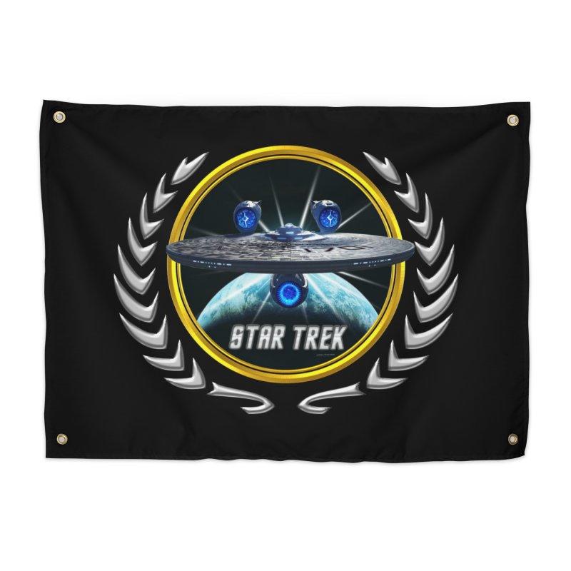 Star trek Federation of Planets Enterprise JJA3 Home Tapestry by ratherkool's Artist Shop