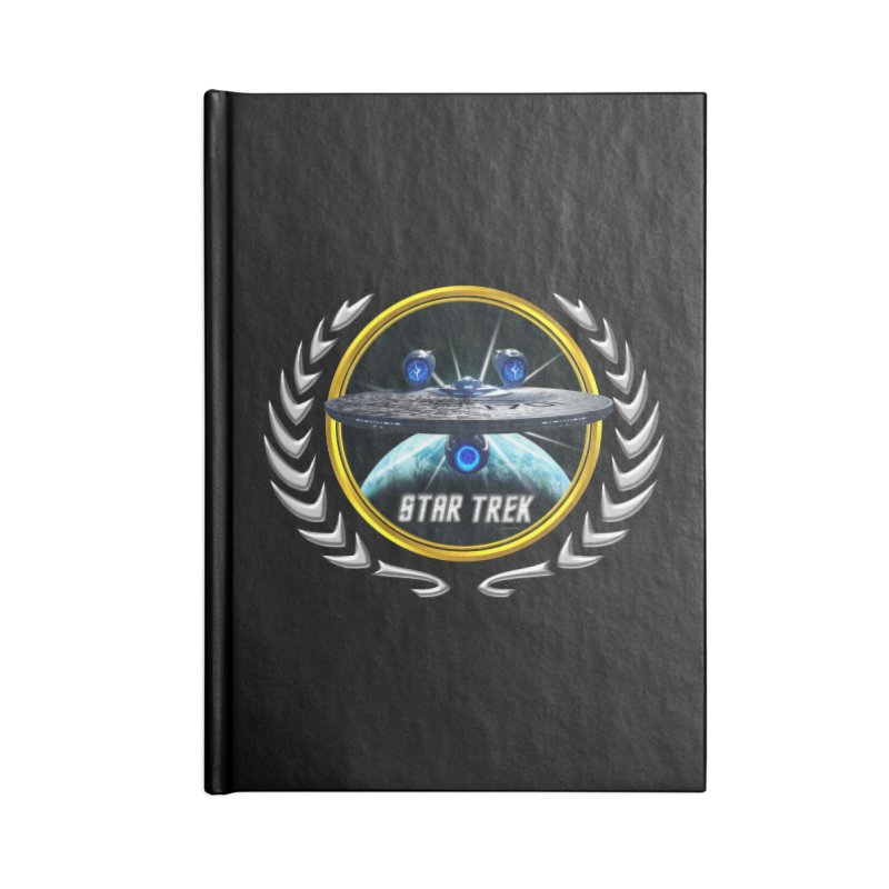 Star trek Federation of Planets Enterprise JJA3 Accessories Notebook by ratherkool's Artist Shop