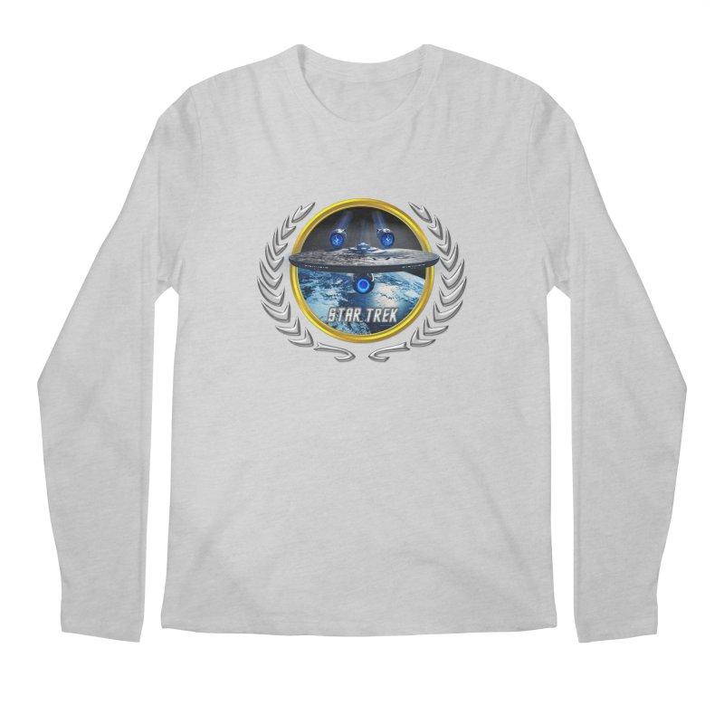Star trek Federation of Planets Enterprise JJA2 Men's Longsleeve T-Shirt by ratherkool's Artist Shop