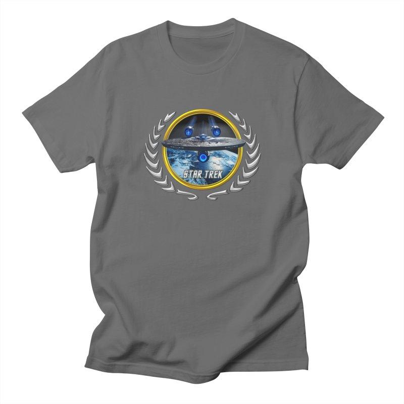 Star trek Federation of Planets Enterprise JJA2 Men's T-Shirt by ratherkool's Artist Shop