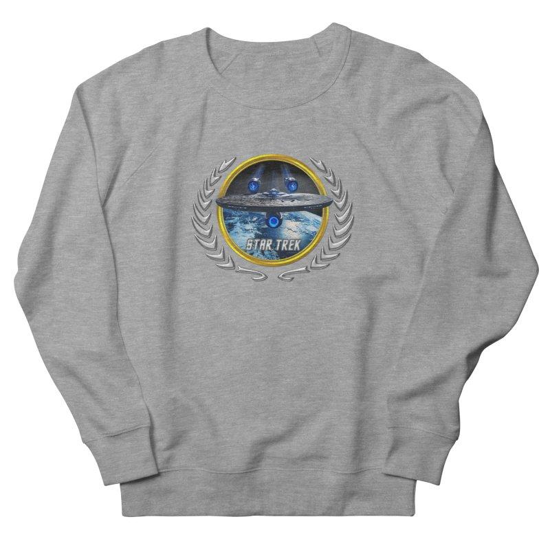 Star trek Federation of Planets Enterprise JJA2 Men's Sweatshirt by ratherkool's Artist Shop