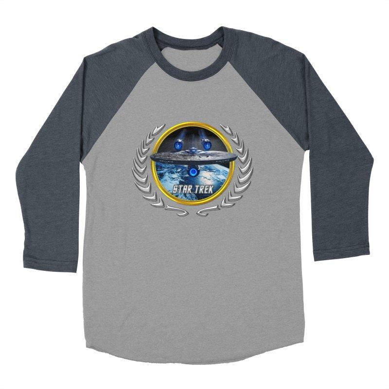 Star trek Federation of Planets Enterprise JJA2 Women's Baseball Triblend T-Shirt by ratherkool's Artist Shop