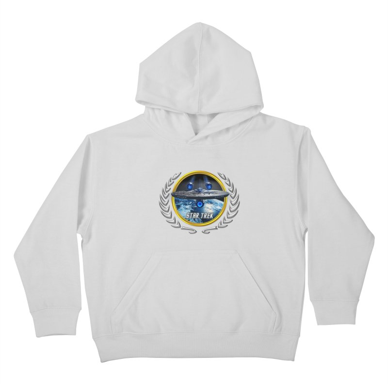 Star trek Federation of Planets Enterprise JJA2 Kids Pullover Hoody by ratherkool's Artist Shop