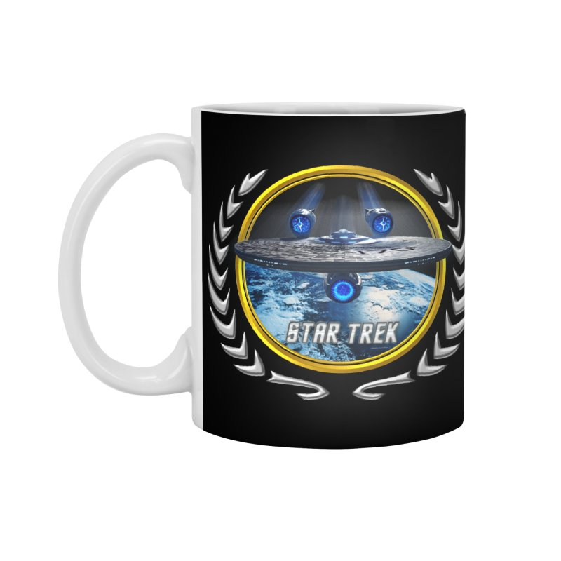 Star trek Federation of Planets Enterprise JJA2 Accessories Mug by ratherkool's Artist Shop