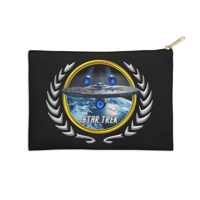 Star trek Federation of Planets Enterprise JJA2 Accessories Zip Pouch by ratherkool's Artist Shop
