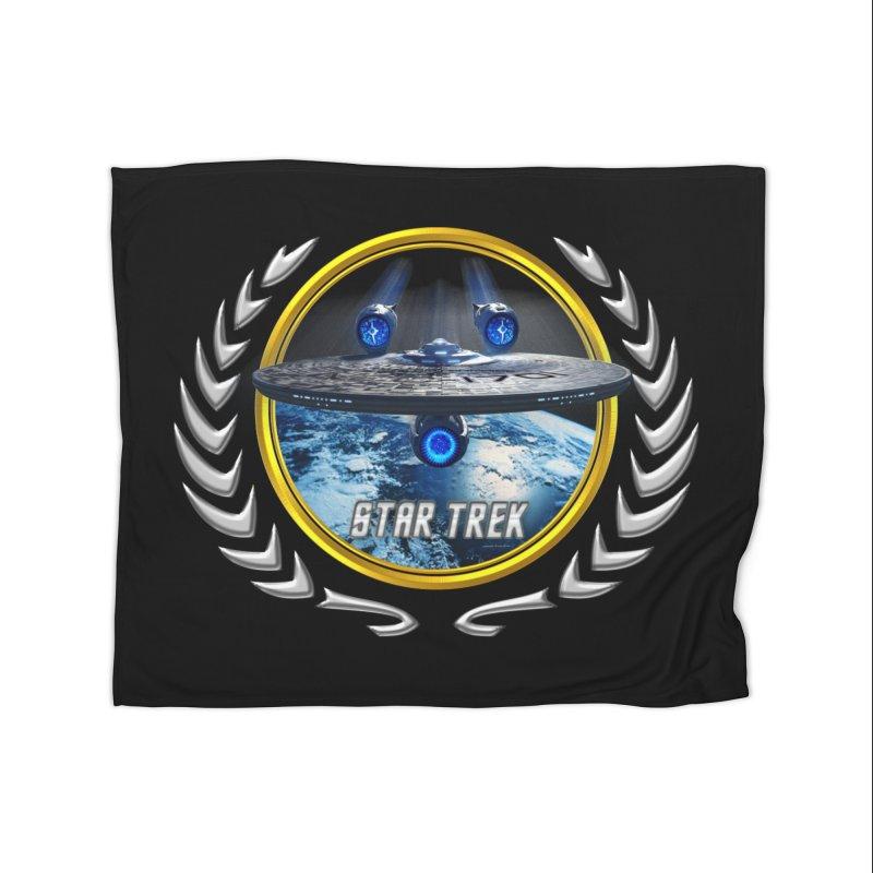 Star trek Federation of Planets Enterprise JJA2 Home Blanket by ratherkool's Artist Shop
