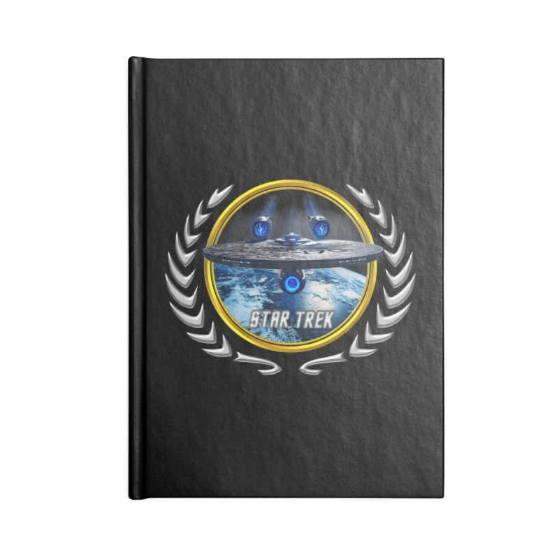 Star trek Federation of Planets Enterprise JJA2 Accessories Notebook by ratherkool's Artist Shop