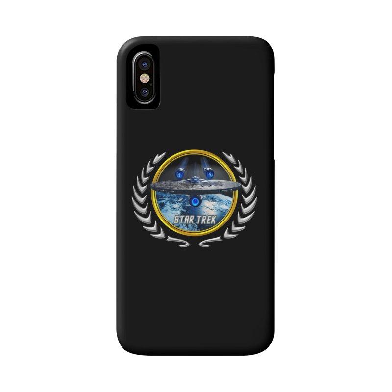 Star trek Federation of Planets Enterprise JJA2 Accessories Phone Case by ratherkool's Artist Shop