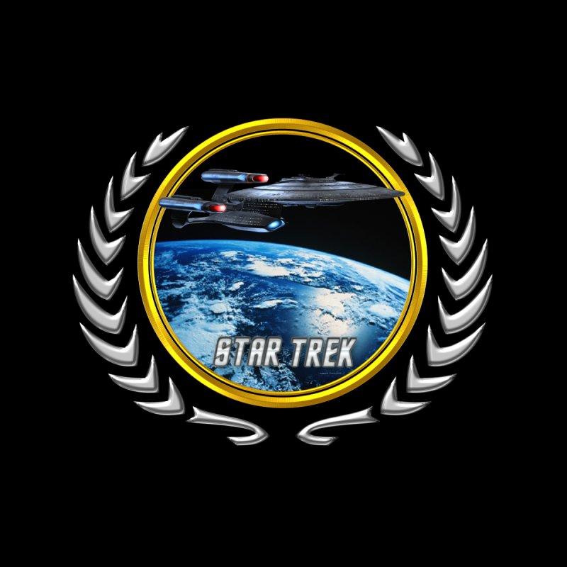 Star trek Federation of Planets Enterprise Galaxy Class Dreadnought by ratherkool's Artist Shop
