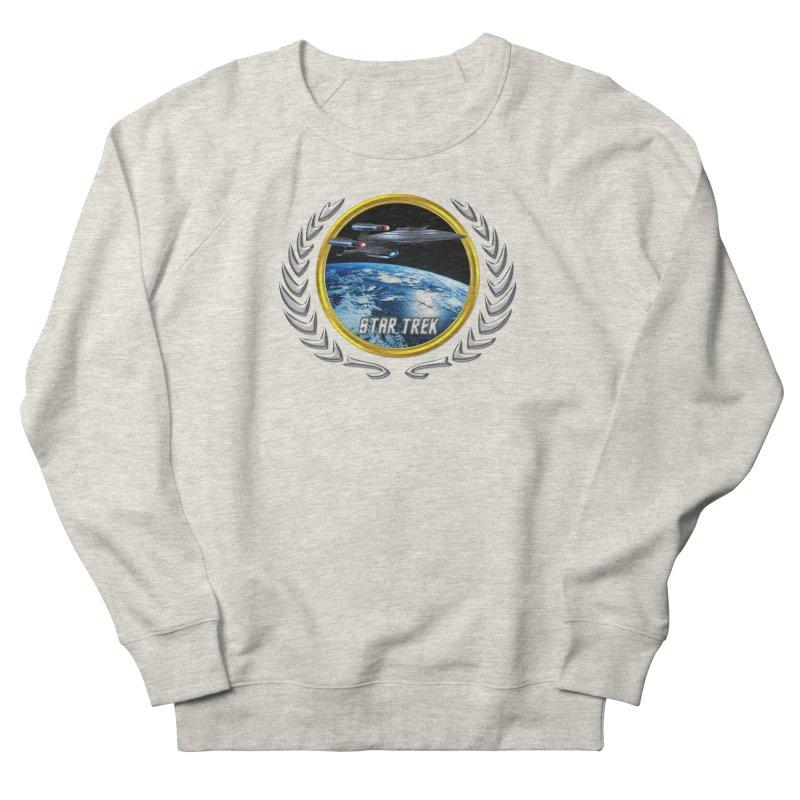 Star trek Federation of Planets Enterprise Galaxy Class Dreadnought Women's Sweatshirt by ratherkool's Artist Shop