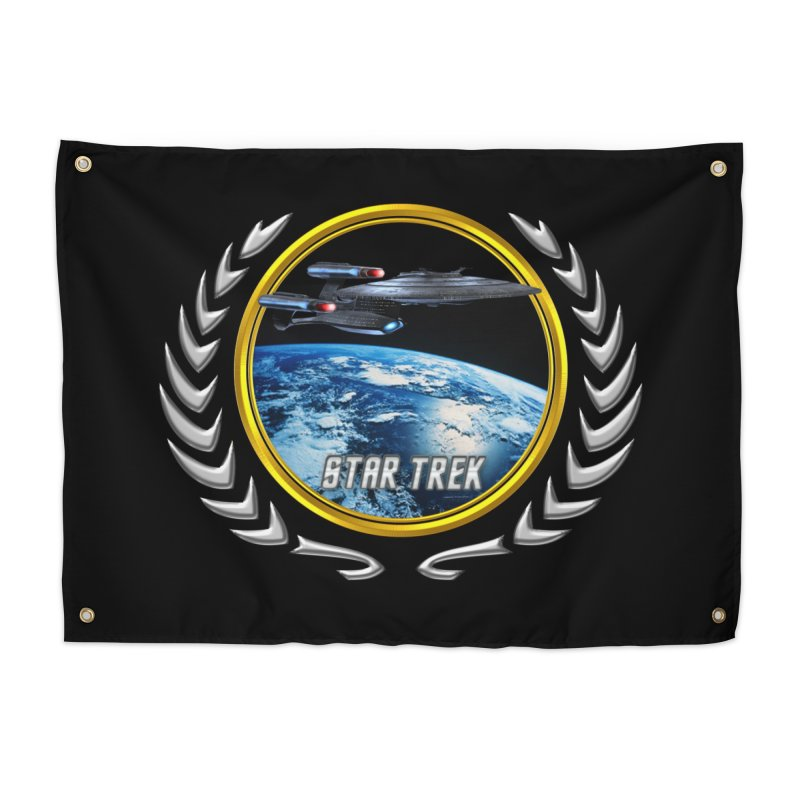 Star trek Federation of Planets Enterprise Galaxy Class Dreadnought Home Tapestry by ratherkool's Artist Shop
