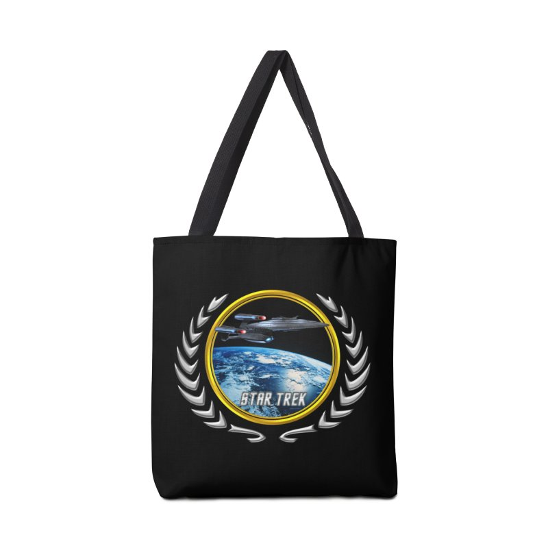 Star trek Federation of Planets Enterprise Galaxy Class Dreadnought Accessories Bag by ratherkool's Artist Shop