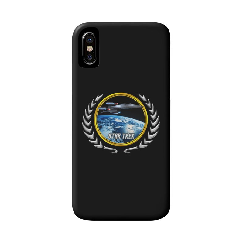 Star trek Federation of Planets Enterprise Galaxy Class Dreadnought Accessories Phone Case by ratherkool's Artist Shop