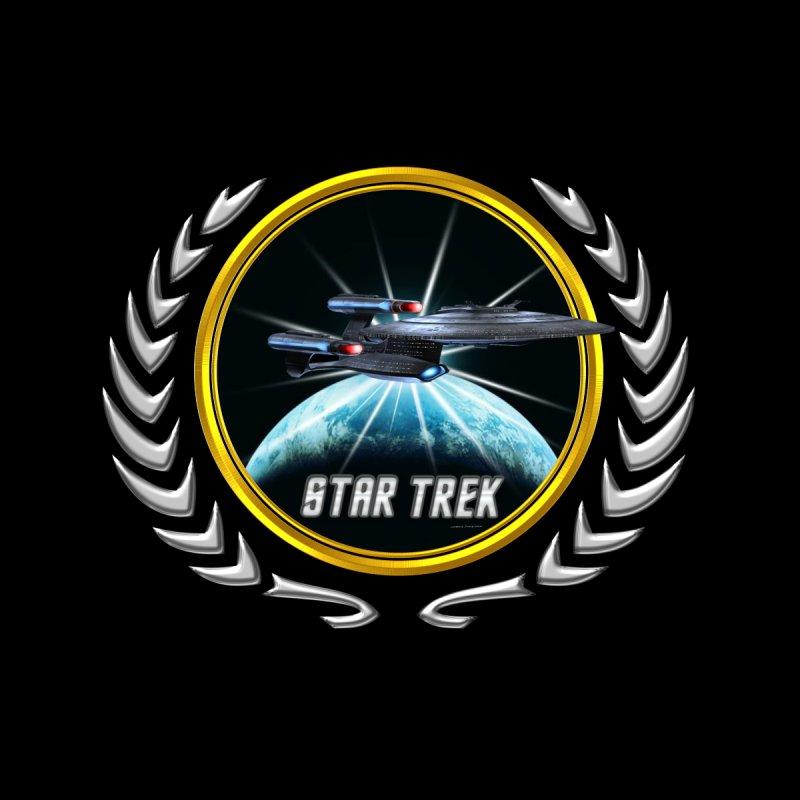 Star trek Federation of Planets Enterprise Galaxy Class Dreadnought 2 by ratherkool's Artist Shop