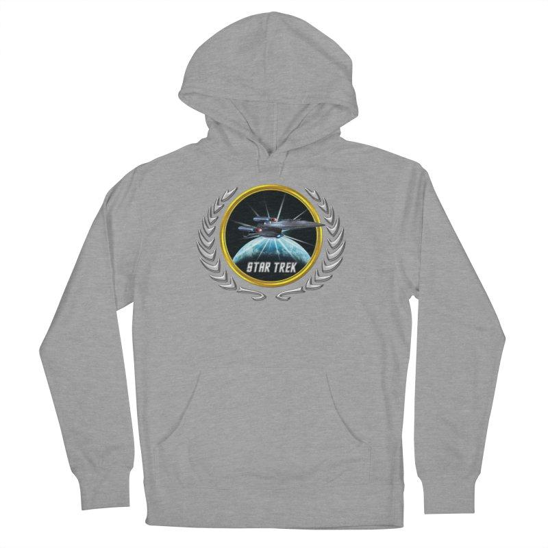 Star trek Federation of Planets Enterprise Galaxy Class Dreadnought 2 Women's Pullover Hoody by ratherkool's Artist Shop