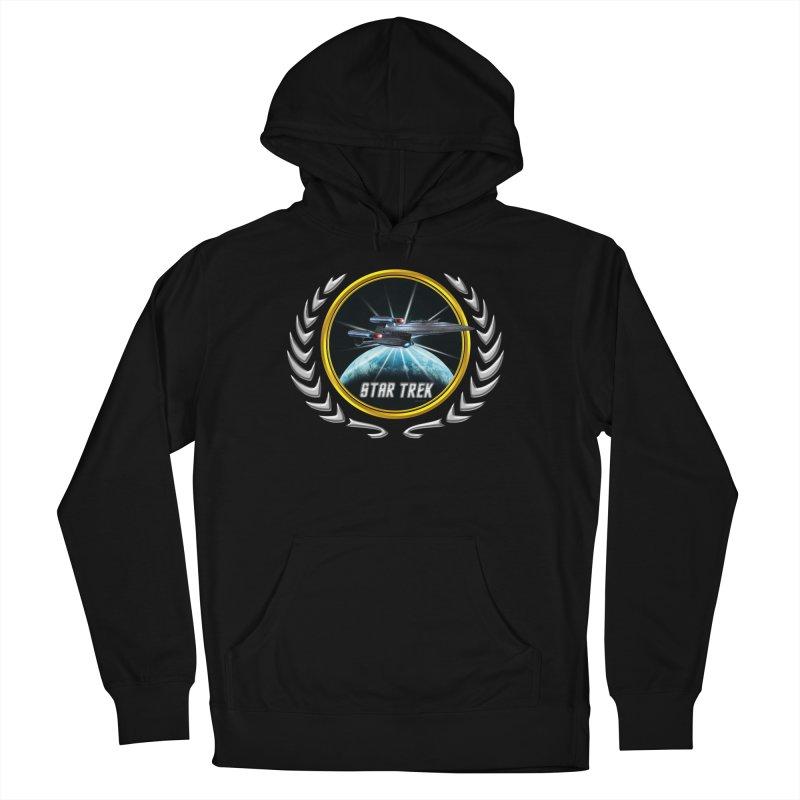 Star trek Federation of Planets Enterprise Galaxy Class Dreadnought 2 Men's Pullover Hoody by ratherkool's Artist Shop