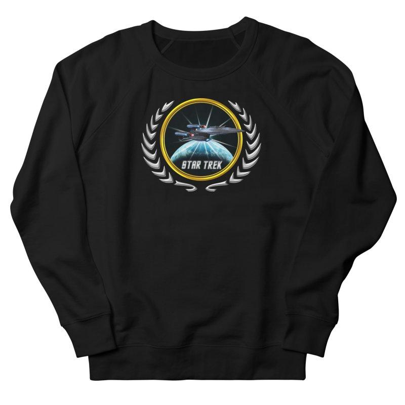 Star trek Federation of Planets Enterprise Galaxy Class Dreadnought 2 Women's Sweatshirt by ratherkool's Artist Shop