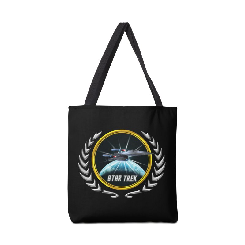 Star trek Federation of Planets Enterprise Galaxy Class Dreadnought 2 Accessories Bag by ratherkool's Artist Shop