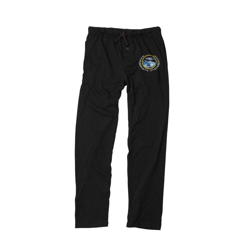 Star trek Federation of Planets Enterprise D Men's Lounge Pants by ratherkool's Artist Shop