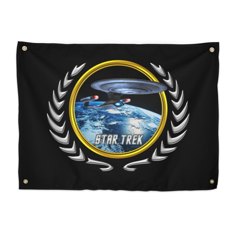 Star trek Federation of Planets Enterprise D Home Tapestry by ratherkool's Artist Shop