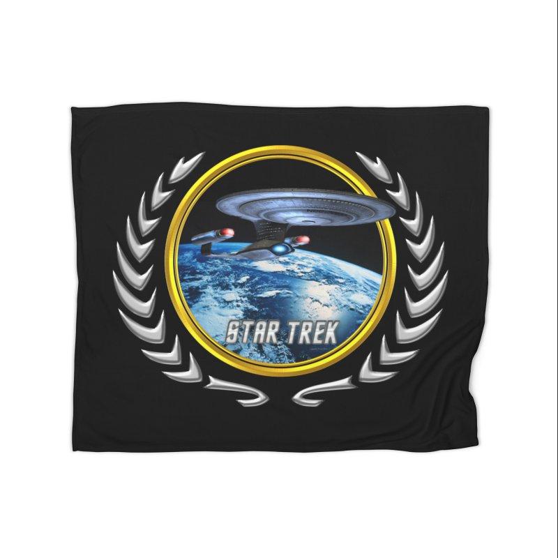 Star trek Federation of Planets Enterprise D Home Blanket by ratherkool's Artist Shop