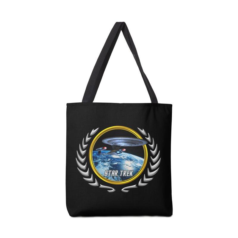 Star trek Federation of Planets Enterprise D Accessories Bag by ratherkool's Artist Shop