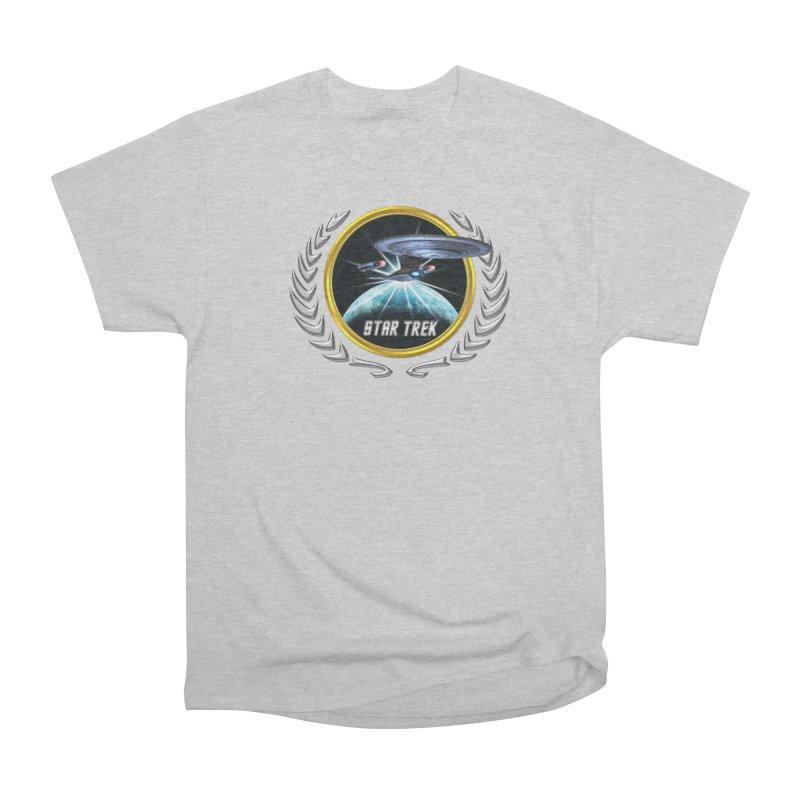 Star trek Federation of Planets Enterprise D 2 Women's Classic Unisex T-Shirt by ratherkool's Artist Shop