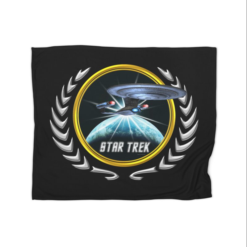 Star trek Federation of Planets Enterprise D 2 Home Blanket by ratherkool's Artist Shop