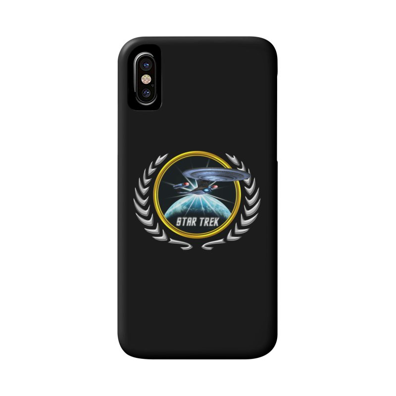 Star trek Federation of Planets Enterprise D 2 Accessories Phone Case by ratherkool's Artist Shop