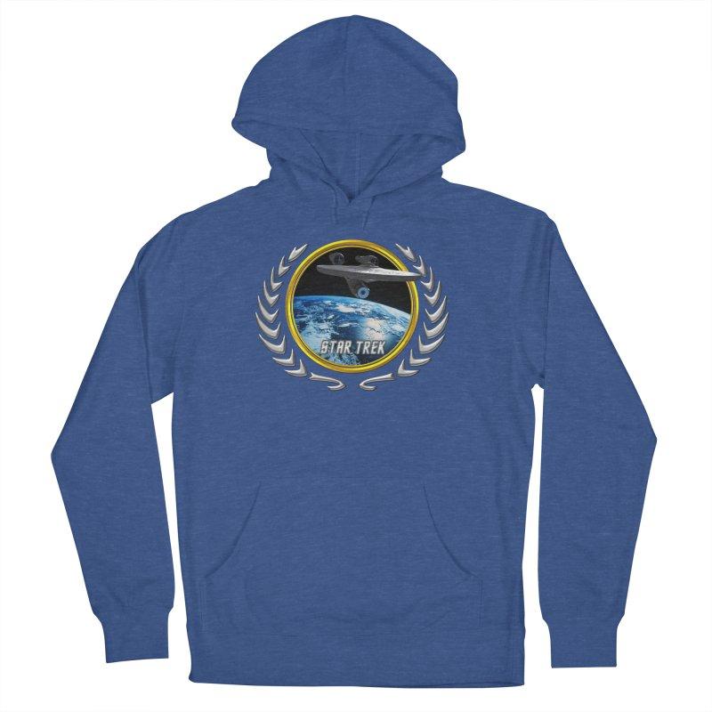 Star trek Federation of Planets Enterprise 2009 Men's Pullover Hoody by ratherkool's Artist Shop