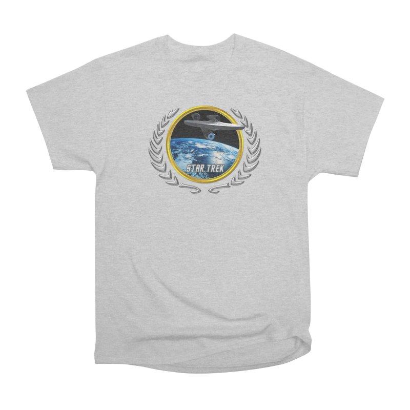 Star trek Federation of Planets Enterprise 2009 Women's Classic Unisex T-Shirt by ratherkool's Artist Shop