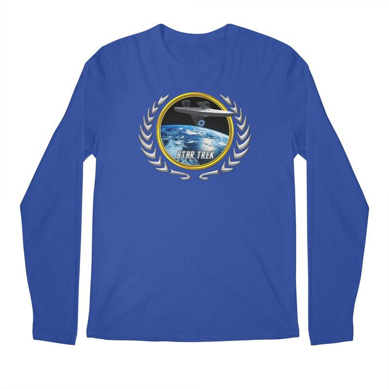 Star trek Federation of Planets Enterprise 2009 Men's Longsleeve T-Shirt by ratherkool's Artist Shop
