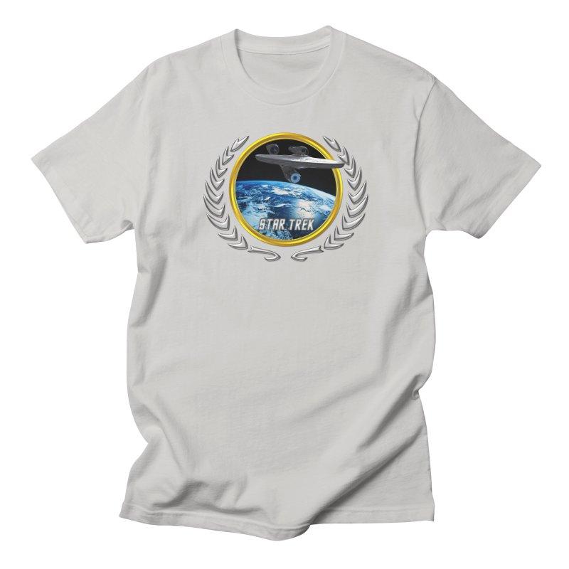 Star trek Federation of Planets Enterprise 2009 Men's T-Shirt by ratherkool's Artist Shop