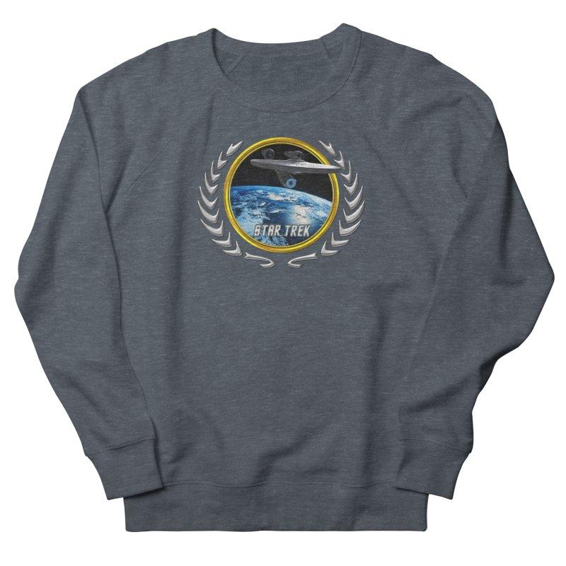 Star trek Federation of Planets Enterprise 2009 Men's Sweatshirt by ratherkool's Artist Shop