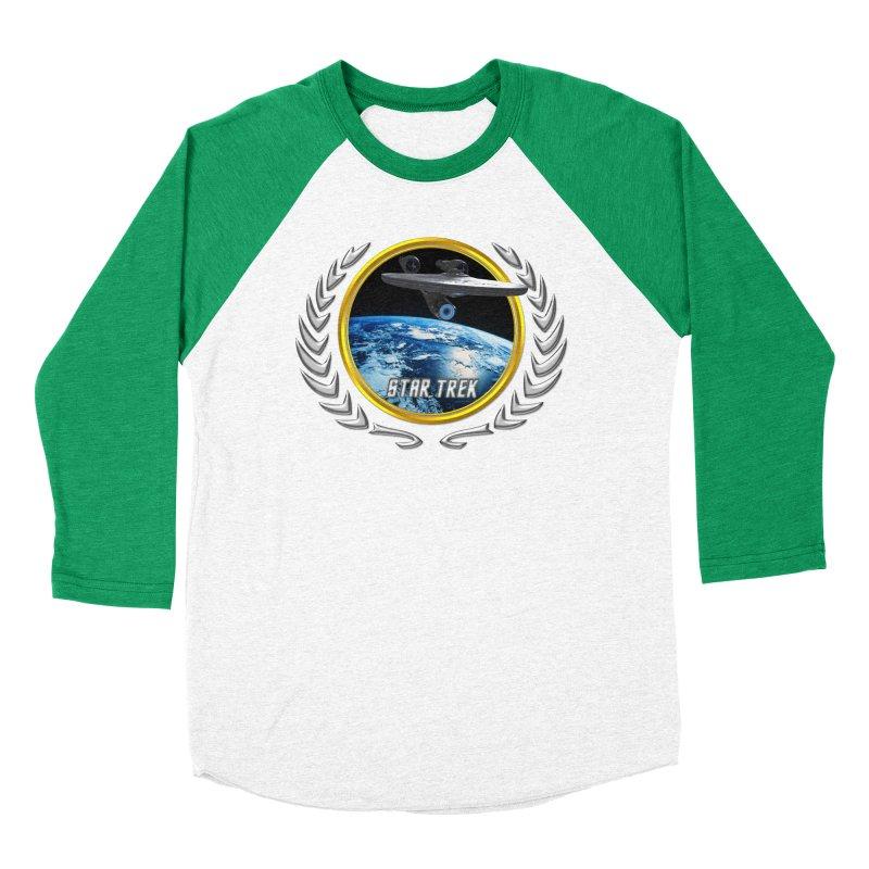 Star trek Federation of Planets Enterprise 2009 Women's Baseball Triblend T-Shirt by ratherkool's Artist Shop
